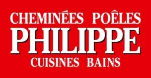 Logo entreprise Cheminées Philippe
